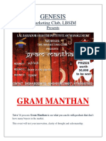 GENESIS Gram Manthan