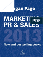 Kogan Page - Marketing, PR & Sales 2013