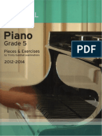 Trinity Piano Grade 5