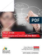 Sonata Software provides dynamics AX solutions