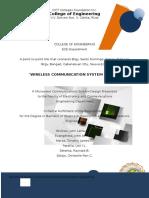 Final Wireless Microwave Communication
