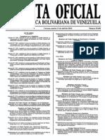 Sumario Gaceta Oficial 39.402