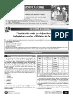 Distribución de La Participación de Los Trabajadores en Las Utilidades de La Empresa