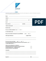 01 - EcoKleenSolar - Personal Information Form