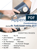 Kasus Bedah Appendicitis