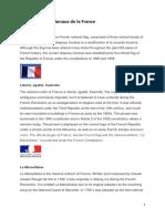 Les Symboles Nationaux de La France