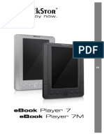 Manual eBook Player 7-7M v1-30 ES