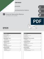 Manual Impresora Epson Stylus SX-420W