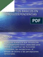 Conceptos Basicos en Drogodependencias