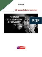 Themalijst Serge Gainsbourg