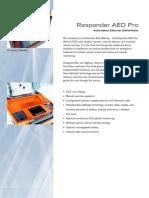 Responder AED Pro Specs