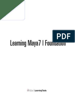 Maya Foundations Book   Rendering (Computer Graphics)   Autodesk Maya