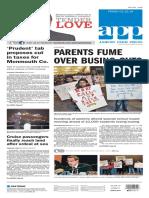 Asbury Park Press front page Friday, Feb. 12 2016