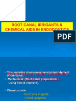Root Canal Irrigants & Chemical Aids in Endodontics