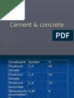 Cement & concrete.ppt