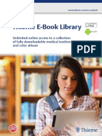 Thieme E-Book Library Brochure En
