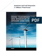 Energy Transmission and Grid Integration of AC Offshore Wind Farms