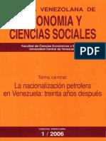Revista de Ciencias Sociales 2006