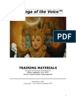 YOV Training Book