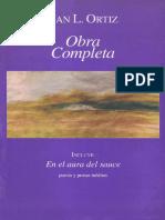 Juan L. Ortiz. Cronología