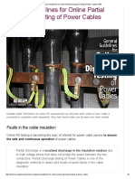 General Guidelines for Online Partial Discharge Testing of Power Cables _ EEP