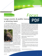 01 Large Events & Public Transport a Winning Team