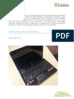 Pruebas y caracteristicas equipo TOSHIBA SATELLITE L645D-SP4002L