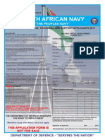 SA Navy Application