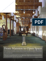 From Mansion to Open Space