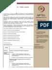 NPTEL Project Management Syllabus