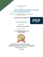 a seminor report on remote sensing