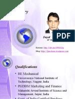 Sourcing Resume Presentation