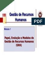 Modulo II Modelos Gestao RH