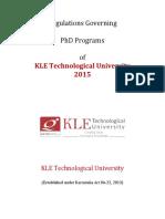 Regulations Governing Phd Programs Jan2016