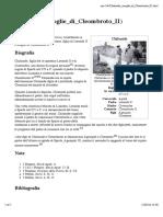 Chilonide (Moglie Di Cleombroto II)