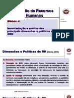 Modulo IV Poliiticas GRH