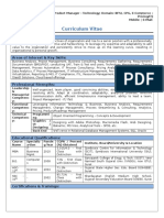 Sample Resume_BA & PM - IT