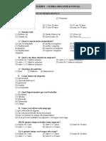 Questionário - Clima Organizacional