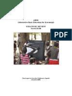 ABEK (Alternative Basic Education for Karamoja) Strategic Review 2009