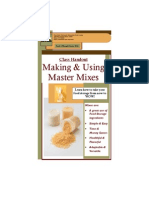 Master Mixes Booklet - 1pg