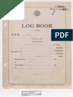 U.S.S. Monterey (CVL-26) Logbook - August, 1944