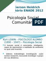 Slides Psicologia Social Comunitária Enade 2012