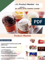 Ice-cream market in India