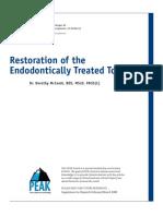 restoration endodontic