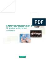 Grammar Performance 1
