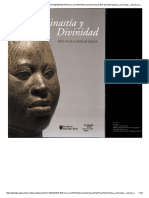 Dinastia y Divinidad Arte Ife en La Antigua Nigeria