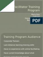 cur532facilitator training program