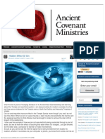 Hidden Effect of Sin » Ancient Covenant Ministries