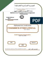 RC TS en Commerce International