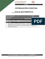 Estimulación del Lenguaje automático en adultos mayores